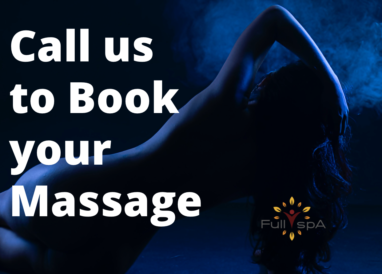 call to book a massage