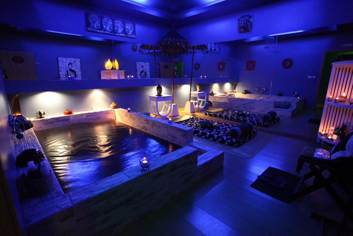 quarto com spa full spa